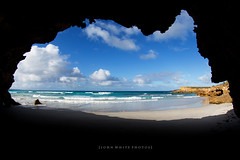 Australia (john white photos) Tags: ocean sea nature water coast map australian australia coastal cave shape southaustralia eyrepeninsula
