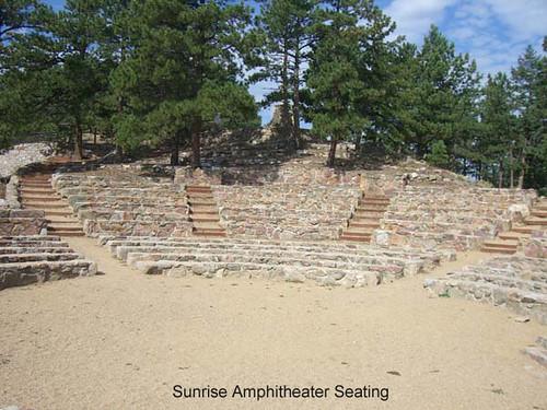Photo - Seating area at the Sunrise Amphitheater