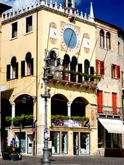 Palazzo dell'orologio (Birnardo) Tags: italia bassano vicenza grappa balcone archi veneto digitalcameraclub flickraward