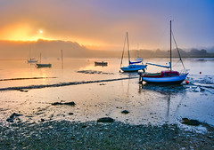 Woodbridge_RiverDeben-200_1_2-Edit (Paul Smith BPE2* - www.pdsdigital.co.uk) Tags: sunrise landscape dawn suffolk woodbridge riverdeben
