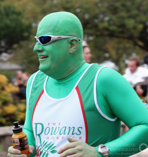 Great South Run - The Green Man