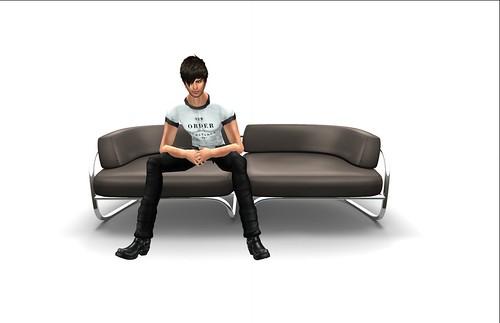 UD - Mesh - Modern 2 Seat Sofa