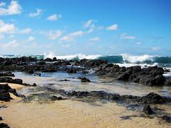 IMG_1194 (heartinhawaii) Tags: ocean sea sky seascape beach nature landscape hawaii pacific wave pacificocean kauai poipu splash tidepools lavarocks poipubeachpark kauaiinoctober