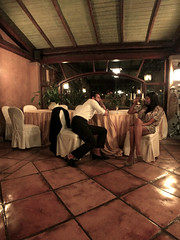 Talk to me (E Pulejo) Tags: wedding brazil restaurant couple floor models talk