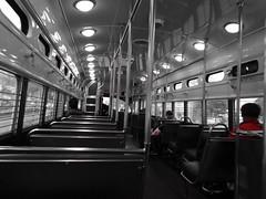 Muni Streetcar (sftrajan) Tags: sanfrancisco night tram muni streetcar tramway hsc trole
