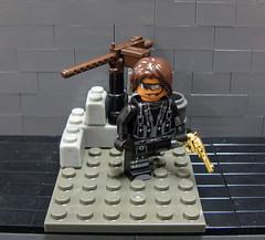 Back in action! (ToyWiz.com) Tags: golden gun weapon minifig megabloks brickarms legomoc toywiz eclipsegrafx brickmoc