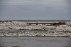 Lake Michigan, Day After Sandy Hit the East Coast (moonlightbaker) Tags: cold windy lakemichigan brrrrrrr roughwaves