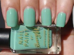 Barry M Mint Green - sun (Nailz Craze) Tags: green swatch mint nails nailpolish nailart mintgreen swatches barrym nailswag nailzcraze