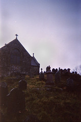(I use to know his name) Tags: camera old uk winter history church wet graveyard rain fog wales clouds 35mm lens grey lowlight ancient boots grim unitedkingdom country hill grain headstones chapel graves spooky plastic tombstones damp disposable plasticlens aberdare