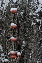Filets enneigés (Michel Seguret Thanks for 11,8 M views !!!) Tags: schnee winter snow france season pond nikon hiver nieve pro estanque invierno neige d200 teich inverno languedoc étang smörgåsbord saison hérault stagno bouzigues dragongoldaward michelseguret