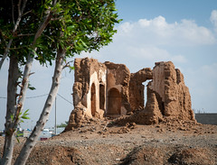 Old mud house in Thuwal (KSA) (Loic Marnat) Tags: mud ksa thuwal