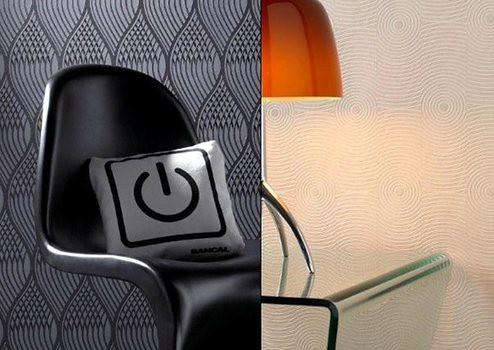 tapiz pared con texturas