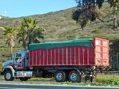 UWS Roll Off (Photo Nut 2011) Tags: california trash dumpster truck garbage junk freeway waste refuse sanitation uws garbagetruck trashtruck wastedisposal rolloff universalwastesystems
