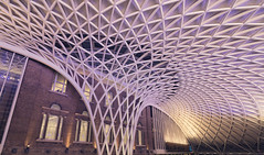 King's Cross railway station (adrian.wai) Tags: uk london railway kingscross pancakelens wideangleadaptor vclecu1 nex6 me2youphotographylevel2 me2youphotographylevel3 me2youphotographylevel1 me2youphotographylevel4