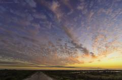 Brazoria Sky (J Labrador) Tags: road park light sunset sky usa colors clouds landscape photography nikon texas brazorianationalwildliferefuge d7000 tokina1116f28