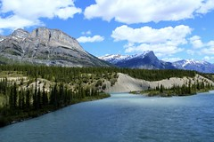 Symphony in Blue (Cole Chase Photography) Tags: canada mountains canon jasper banff albertacanada northsaskatchewanriver banffnationalpark t3i saskatchewanriver icefieldsparkway albertalandscape