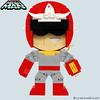 """LEGO Proto Man Figure • <a style=""""font-size:0.8em;"""" href=""""http://www.flickr.com/photos/44124306864@N01/8418649560/"""" target=""""_blank"""">View on Flickr</a>"""