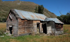 Weary and Blue (Tones Corner) Tags: ruins ruin oldhouse wanaka oldshed nzscene rusticbuilding dilapidatedcottage earlybuilding