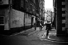 Arches Alley (Nick Lambert!) Tags: street blackandwhite bw scotland fuji glasgow streetscape nicklambert archesalley fujix100 fujinonasphericallens