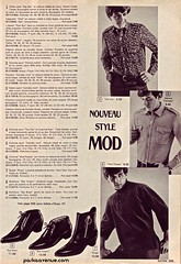 Mod Fashion 2 - Eaton's Catalog 1966 (Patrick from Parka Avenue) Tags: mod 1966 carnabystreet mods 60sfashion chelseaboots mailordercatalog parkaavenue