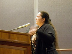 GMO Lobbyist Alicia Maluafiti (hdoug50) Tags: usa hawaii patents geneticengineering indigenous polynesian pesticides righttoknow untested precautionaryprinciple nogmoorganicnongmo