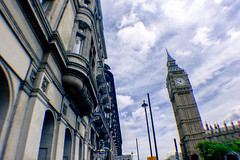 London (KelseyPenguin!) Tags: london england bigben architecture building outdoor wideangle fisheye