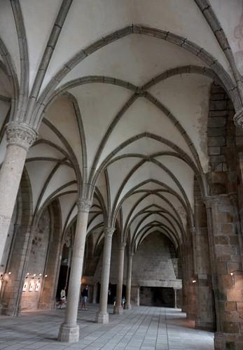 Mont Saint-Michel, Sala dels hostes.