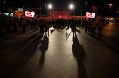 The long shadow... (Jonas Rathgeber) Tags: istanbul turkey beikta flags rally documentary photojournalism erdogan nationalist