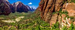 Zigzag (Elespics) Tags: zionnationalpark angelslanding utah nature mountains ngc