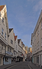 UK - York - High Petergate (Harshil.Shah) Tags: york yorkshire high petergate minster yorkminster england great britain united kingdom gb uk street historic city centre