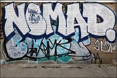 Nomad (Alex Ellison) Tags: nomad eastlondon hackneywick hw urban graffiti graff boobs