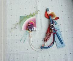 broochnecklace (maslikarija) Tags: colorful brooch necklace neckpiece cotemporaryjewellery jewellerydesign artjewelry wearableart textilejewellery fabric patternlove