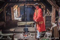20160712-IMG_6457 Redcoat In 1700s Village House Highland Folk Museum Scotland.jpg (rodtuk) Tags: phototypes scotland historic highlands misc places oldhouse b24 70d kit buildings uk military photographicequipmentused