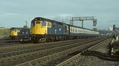 27012 Haymarket (jbg06003) Tags: brblue brcw class27 depot haymarket scotrail