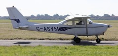 Cessna F172E Skyhawk G-ASVM Lee on Solent Airfield 2016 (SupaSmokey) Tags: cessna f172e skyhawk gasvm lee solent airfield 2016