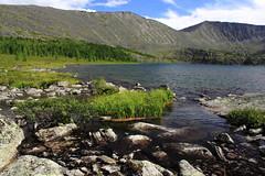 Stoktyshkoye Lake and Kohosh Mountain, Khakassia, Russia (fionxl) Tags:  stoktyshskiye lakes stoktysh lake nature khakassia siberia russia summer kohosh mountain
