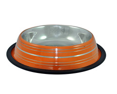 SKU 700: aGLOW Non Skid Bowl with Color Ribs (TranscendentPet) Tags: dogs cats dog cat rabbit guinea pig birds parrot petbowls feeders waterers feedingtime