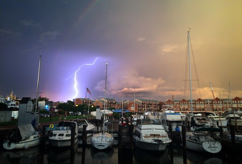 Storm today in Baltimore. Shot on my iPhone