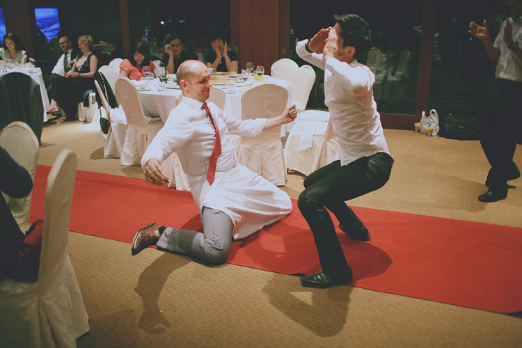 婚禮攝影-下腰