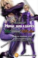 Portada Fanfic nina williams (CarlosHerreraJevc) Tags: wordpress flickr fanartsjevc photoshop jevcupeditions 2016 tekken namco ninawilliams irlanda fandom wattpad jevcupeditions jevcoilerficstm jevcoilerfics purple white europa covercustoms