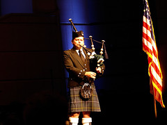 We Remember (Kaptured by Kala) Tags: theheightsbaptistchurch richardsontexas remembering911 911 remember americanflag bagpipes bagpipeplayer flag america