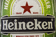 MM - Stars (yafit770) Tags: macromondays stars macro heineken beer lager bottle green red label redstar drink cold