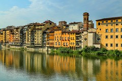 Florence (exploringeurope) Tags: florence italy colorful photography freehand river city toscana canon5dmarklll canon5dmarkiii