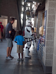 can i get some fries (keown29) Tags: star wars safeco field seattle king washington storm troopers stormtroopers