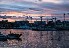 P1040973 (Cardinal Guzman) Tags: 2016 akerbrygge oslo august solnedgang sunset