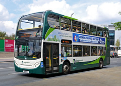 YN61BGX 12098 Stagecoach Sheffield (martin 65) Tags: stagecoach sheffield southyorkshire south road transport e200 e300 e400 enviro enviro400 hybrid public yorkshire group eastmidland mansfield nottinghamshire vehicle bus buses