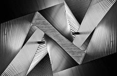 Metal Origami (spiraldelight) Tags: tse17mmf4l eos5dmkii hiroshima  orizurutower ceil architecture