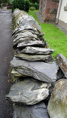 A Fence in Luss, Scotland (vmyk) Tags: luss scotland rocks fence
