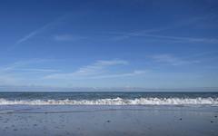 The sea (Wouter de Bruijn) Tags: fujifilm xt1 fujinonxf14mmf28r beach sand shell seashells shore water sea waves outdoor nature landscape minimal minimalist minimalism northsea