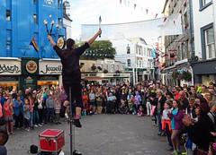 Galway Street Performer Fire Eater (Photoblog.ie (Patrick Dinneen)) Tags: galway street preformer fireeater ireland entertainment fun fire knife skill summer canon g7x shopstreet